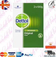 Dettol Original Soap - Anti-bacterial - 2 x 100g