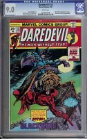 Daredevil Comic Book The Man Without Fear #122 Marvel CGC 9.0 Certified
