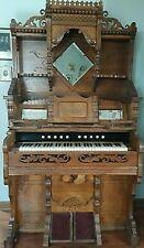 Antique Charles P Bowlby Princess Foot Pedal Pump Victorian Parlor Organ