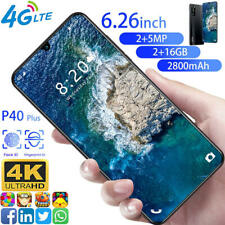 Cheap Factory Unlocked Smartphone Cell Phone Android Dual SIM Quad Core P40 Plus