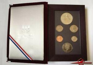 U.S.A 1988 Prestige Set Olympic, 6 Gem Proof Coins U. S. Mint. Whit Case