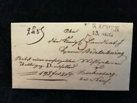 Vorphilatelie Altdeutschland 1818(?) - Brief Faltbrief  Aachen     Nr.10