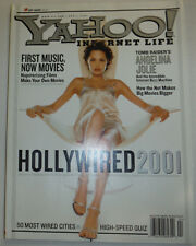 Yahoo! Magazine Hollywired Angelina Jolie April 2001 032015R