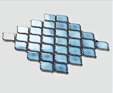 Hot 11PCS blue lantern ceramic mosaic tile kitchen bathroom fireplace wall tiles