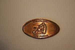 Elongated coin, Sammlermünze,Zoo Atlanta,Red Panda