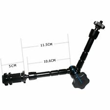 """UK store! CameraPlus® 11'' Magic Arms with 1/4"""" female and 3/8"""" threaded"""