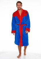 Spiderman Luxus Bademantel Marvel Bath Robe Sauna Mantel Einheitsgröße neu