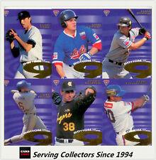 1996 Futera ABL Trading Cards Legend Redemption Card Scott Metcalf -rare