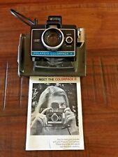 Polaroid Colorpack II Instant Film Camera