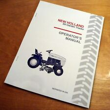 New Holland S8 Lawn Garden Tractor Operator's Owners Book Guide Manual 36Rm 42Fb