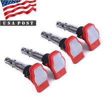 4PCS Ignition Coil For AUDI A4 1.8T Turbo 2001-2005