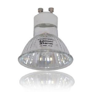 10 x GU10 + C Halogen Bulbs Lamp 50W GU10 bulbs
