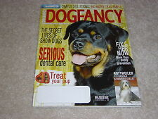 Rottweiler * Basenji Bearded Collie February 2006 Dog Fancy Magazine Dental Care
