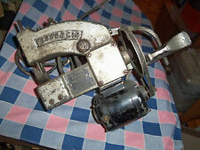 Vintage Fischbein Portable Bag Closer Model C  Runs  Has Bowman Dairy Plate