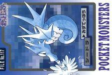 POKEMON JAP BANDAI POCKET MONSTERS CARD FILE N°  117 SEADRA HYPOCEAN