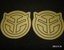2 AUTHENTIC FEDERAL BMX BICYCLE FRAME STICKERS / DECALS #25 AUFKLEBER
