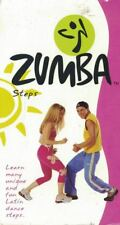 Zumba Steps VHS Learn Unique & Fun Latin Dance Steps 2002 Fitness Quest