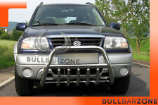 SUZUKI GRAND VITARA I 98-05 TUBO PROTEZIONE MEDIUM BULL BAR INOX STAINLESS STEEL