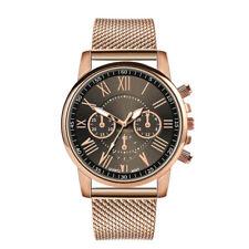 New Women Fashion Watch Stainless Steel Analog Quartz Dress Bracelet Wrist Watch