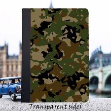 Funda Camoflage Ejército iPad (Cuero o Plástico Duro)