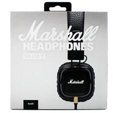 BLACK New Genuine Marshall MAJOR 2 II On Ear Headphones HiFi Headset Wired