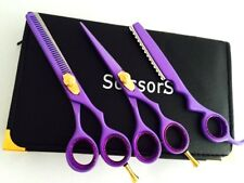 "5.5""Professional Hair Cutting Thinning Scissors Barber Shears Hairdressing+Razor"