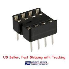 20 pcs 8 pin DIP IC Sockets Adaptor Solder Type Socket - US Seller Fast Shipping