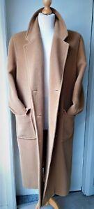 Vintage Viyella Wool Oversize Over Coat Ladies Womens Size 14  - 16