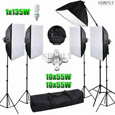 6175W Photography Photo Studio Soft box Video Continuous Lighting Boom Light kit
