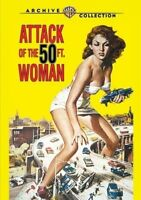 Attack of the 50-Foot Woman [New DVD] Manufactured On Demand, Full Frame, Mono