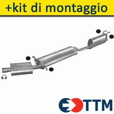 FIAT MULTIPLA VAN 1.6 103HP 1999-2001 Il Sistema Di Silenziatori+