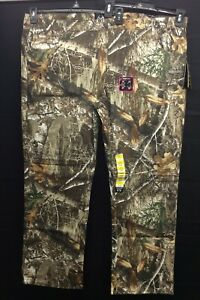 Real Tree EDGE Mens Flex Pants Camo Camouflage 5 Pocket 2XL NWT Cotton Blend