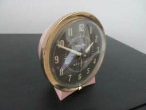 Vintage Pink Westclox Baby Ben Alarm Clock