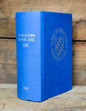 1980 Genealogisches Handbuch Bayern Immatrikulierter Adel XIII