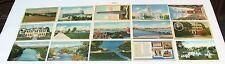 1930's 1940's 1950's Linen MASSACHUSETTS Postcard Lot ~ 86 Postcards ~ Free Ship