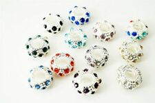 Rhinestone European Jewellery Charms