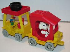LEGO FABULAND No 3641 CAR & CAMPER 100% COMPLETE 1980s