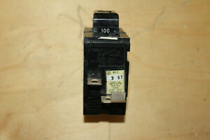 ITE/ Bulldog P2100, 100 Amp, 240 Volt, 2P, Pushmatic Circuit Breaker