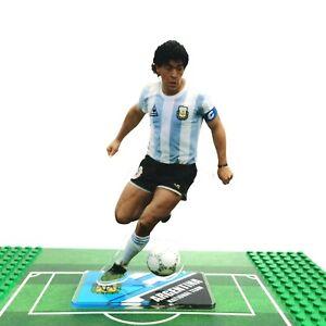 Diego Maradona Standing Figure Ornament Decor Argentina1986 World Cup Champions