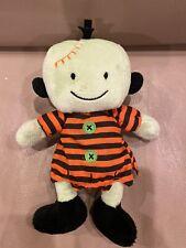 "💜 RARE 7"" Halloween Frankenstein Zombi Carter's 2005 Plush Doll Baby Toy HTF"