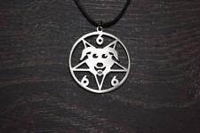 Mr.Pickles Good Boy 666 necklace Merch symbol sticker patch t shirt pin choker