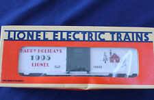 1995 Lionel 6-19938 Christmas Box Car New Happy Holidays L3132
