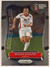 2018 Prizm Fifa World Cup Soccer Scorers Club Insert Tunisia Wahbi Khazri SC-28