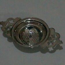 EPNS A1 SILVER PLATED TEA STRAINER
