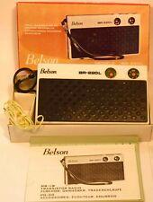 Poste à transistors BELSON - Modèle BR-220L - Noir