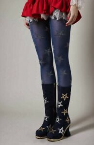meadham kirchhoff topshop tights glitter stars