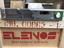 ELENOS BROADCAST FM TRANSMITTER EXICITER ETG 2000 W INDIUM EMISORAS MPX