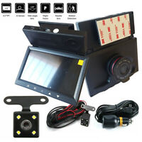 "KIT DVR AUTO 2 TELECAMERE VIDEOREGISTRATORE FULL HD 1080P MONITOR 4,3""Display LC"