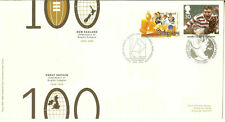 New Zealand Cover Sports Postal Stamps