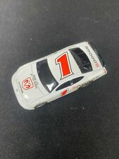 HO SLOT CAR NASCAR LIFE LIKE FAST TRACKER WHITE #1 DODGE